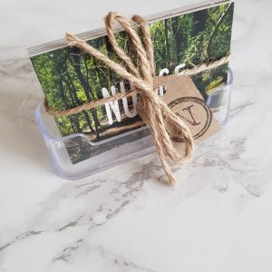 nudge cards perspex holder