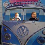 all aboard the butlins bus
