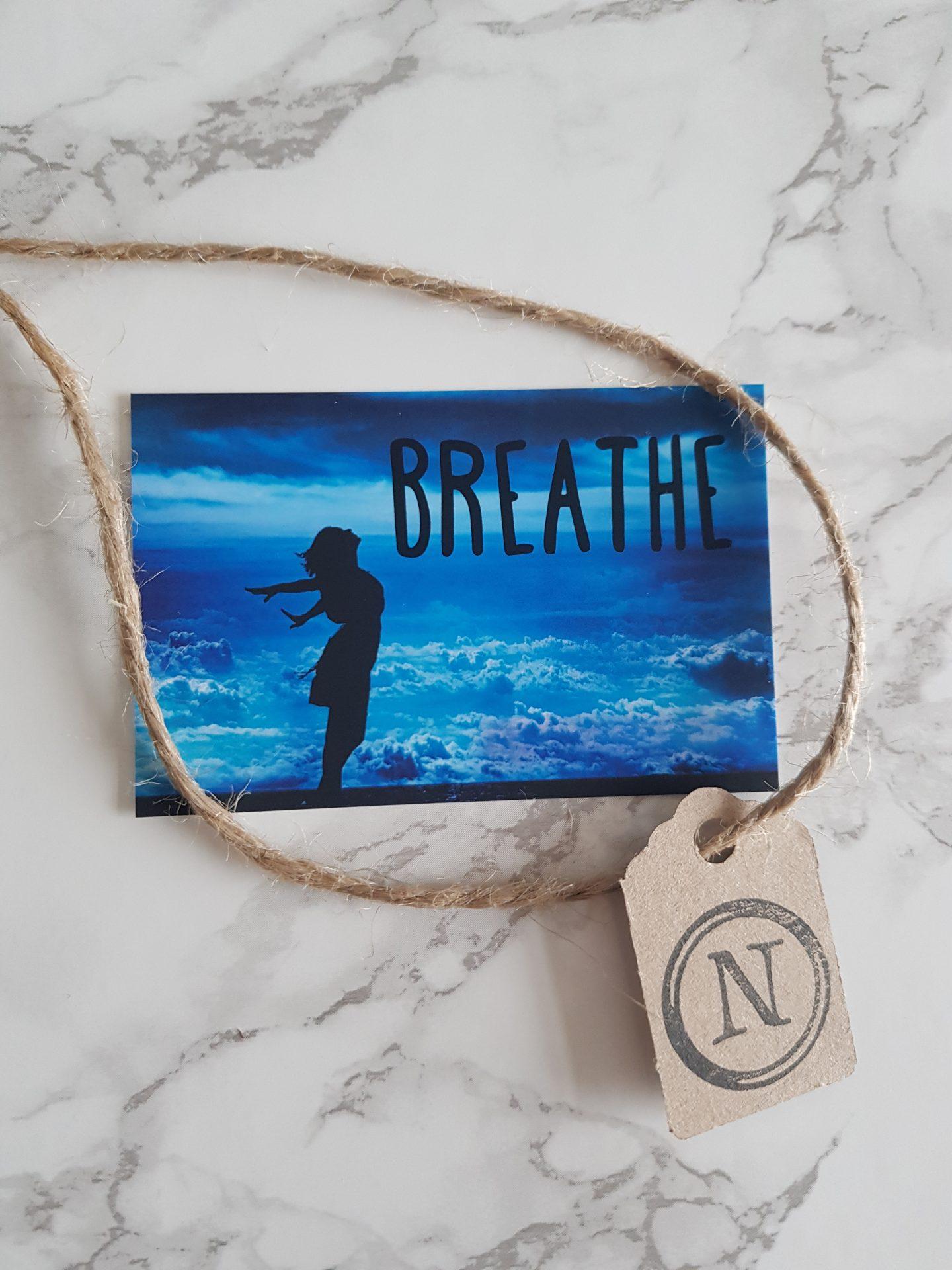 breathe nudge card