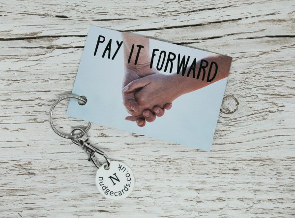pay it forward trolley coin